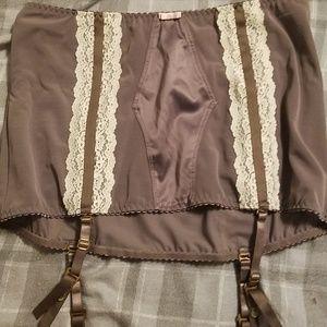 Victorias secret shapewear with garter